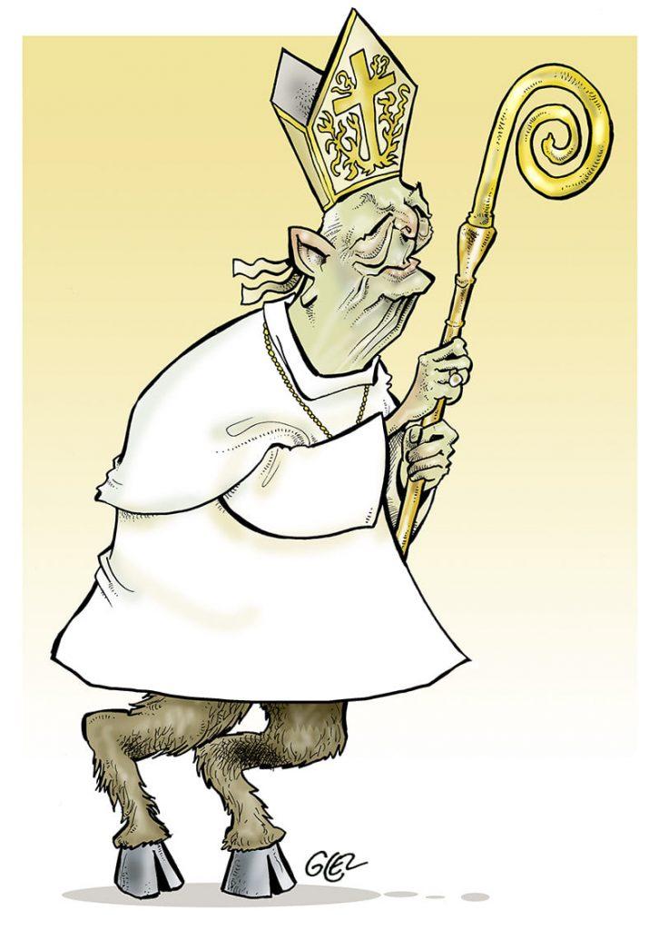dessin presse humour rapport Sauvé image drôle pédophilie église